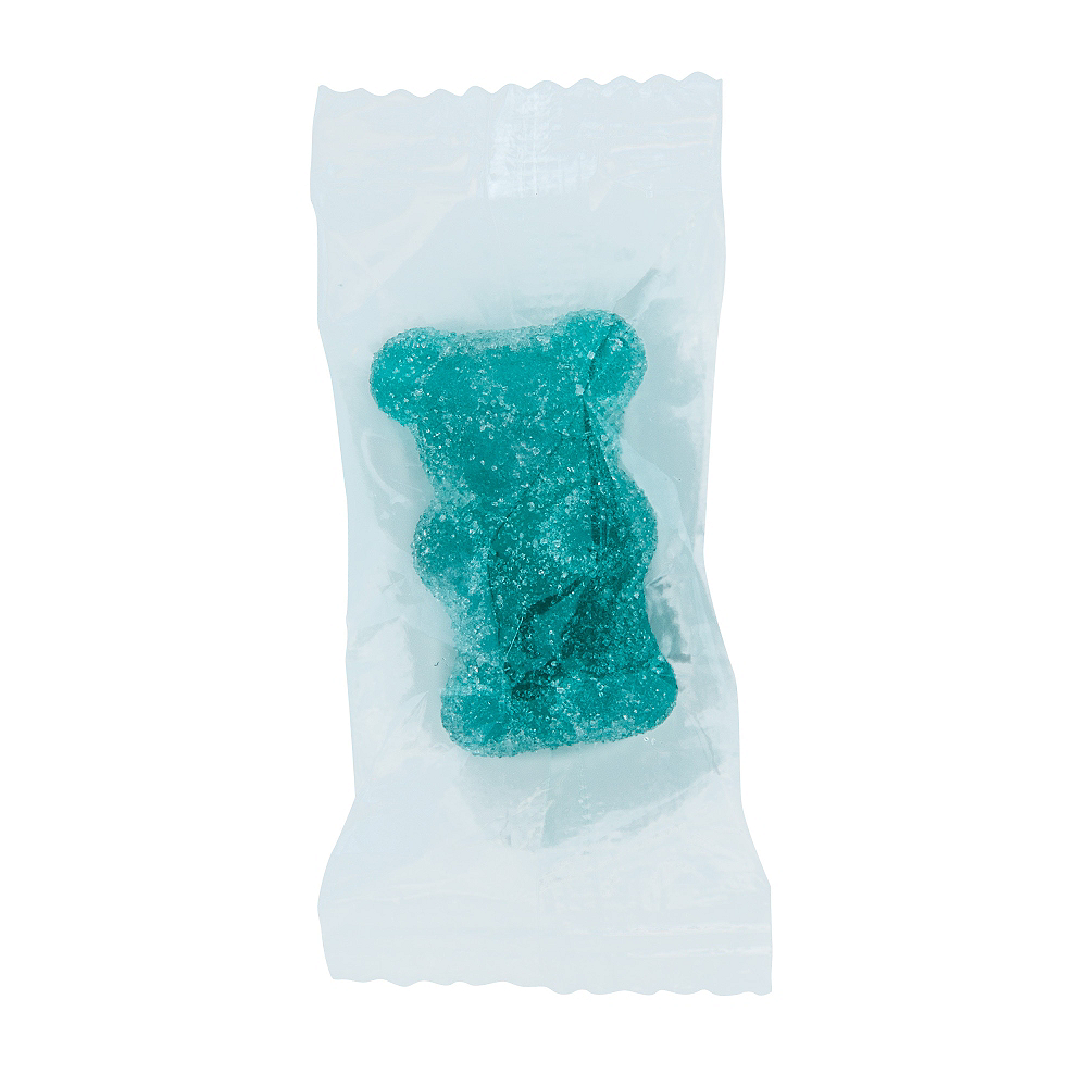 Large Blue Gummy Bears 162ct Image #2