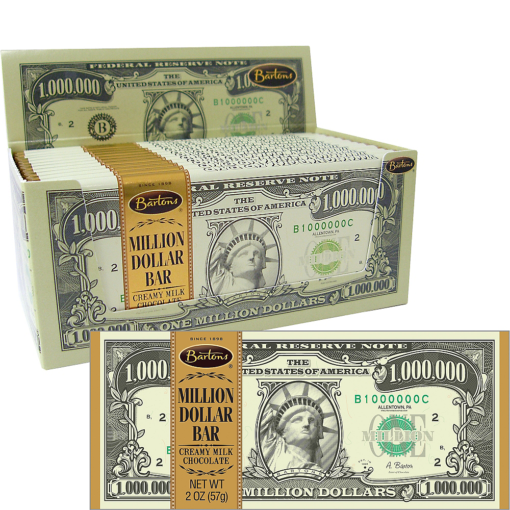 Milk Chocolate Million Dollar Bars 12ct Image #1