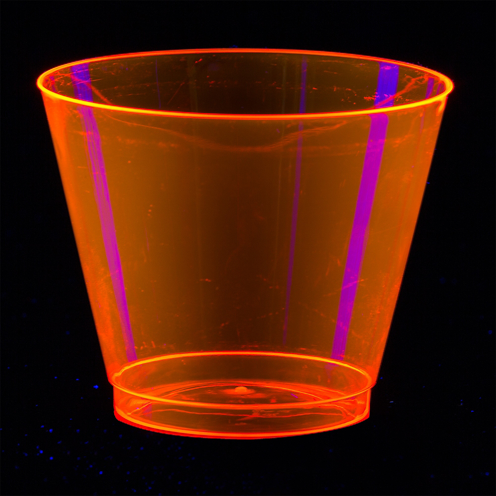 Big Party Pack Black Light Neon Plastic Tumblers 72ct Image #4