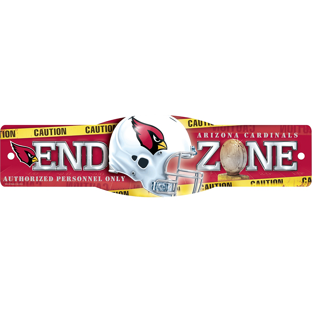 Nav Item for Arizona Cardinals End Zone Sign Image #1