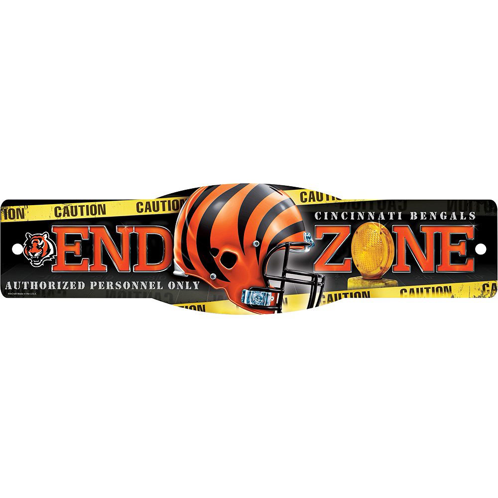 Nav Item for Cincinnati Bengals End Zone Sign Image #1