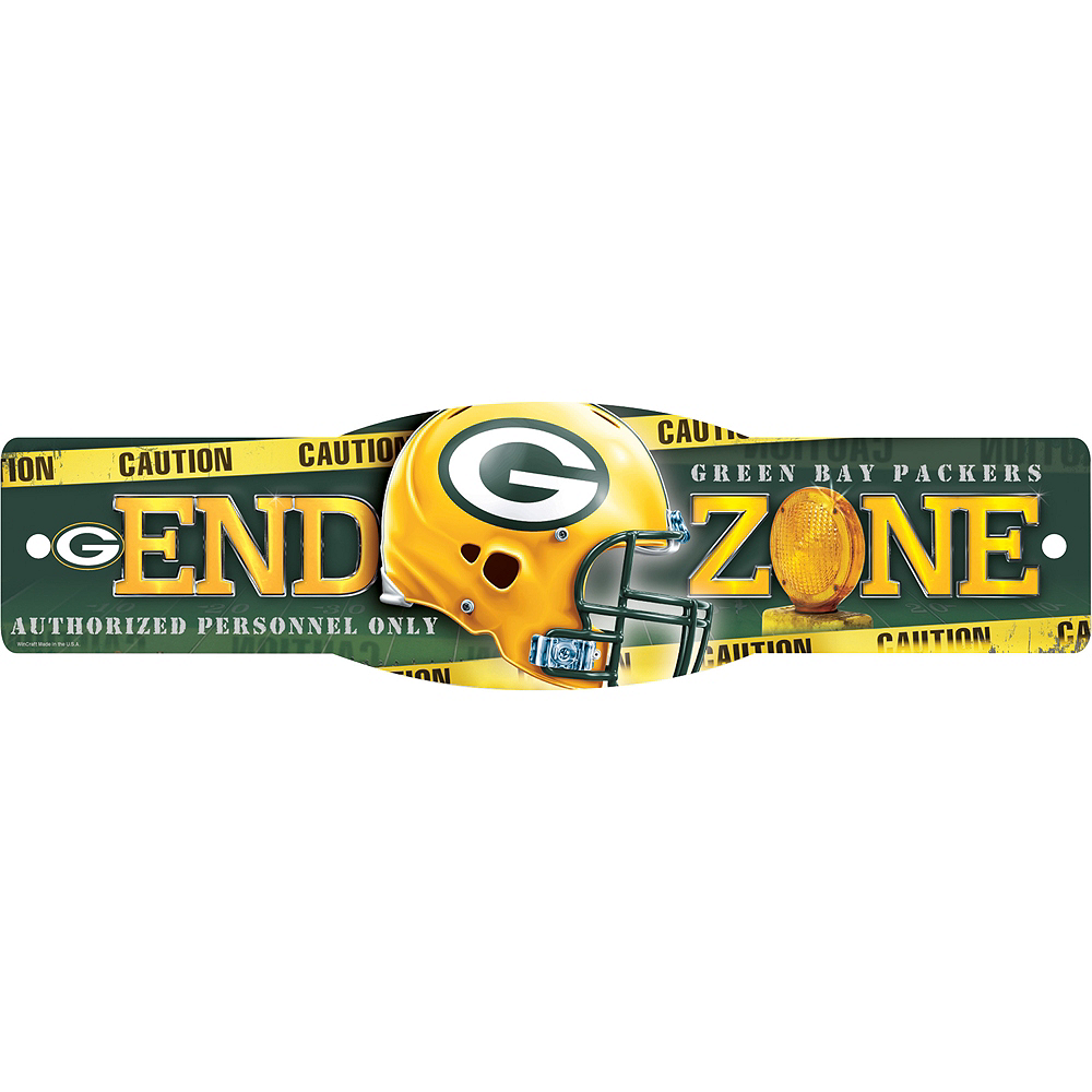 Green Bay Packers End Zone Sign Image #1
