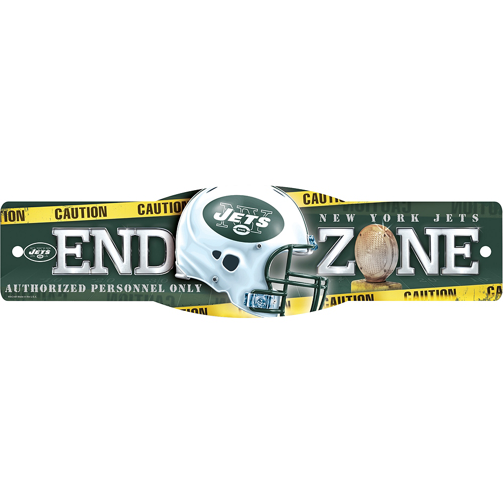New York Jets End Zone Sign Image #1