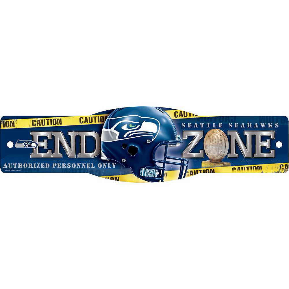 Seattle Seahawks End Zone Sign Image #1