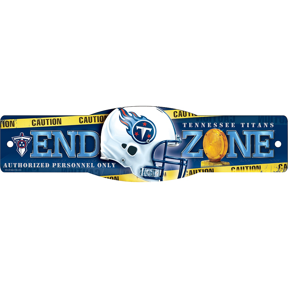 Tennessee Titans End Zone Sign Image #1