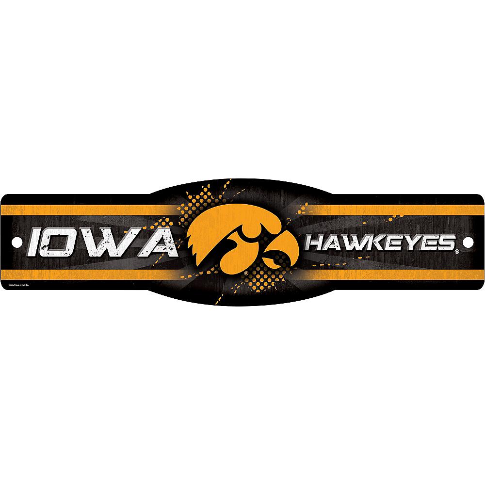 Iowa Hawkeyes Street Sign Image #1