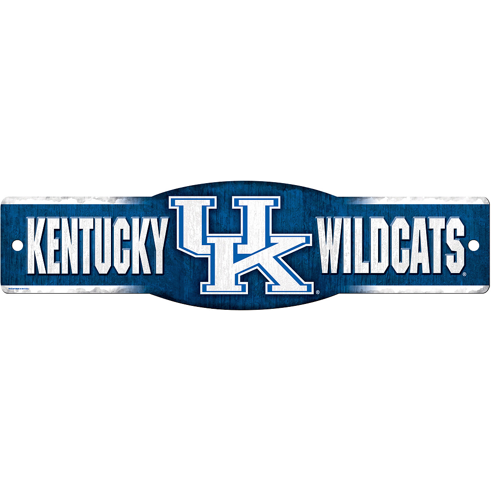 Kentucky Wildcats Street Sign Image #1