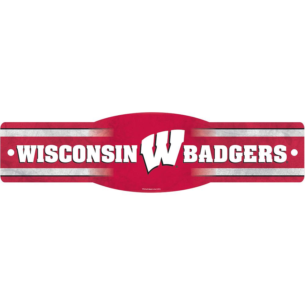 Wisconsin Badgers Street Sign Image #1