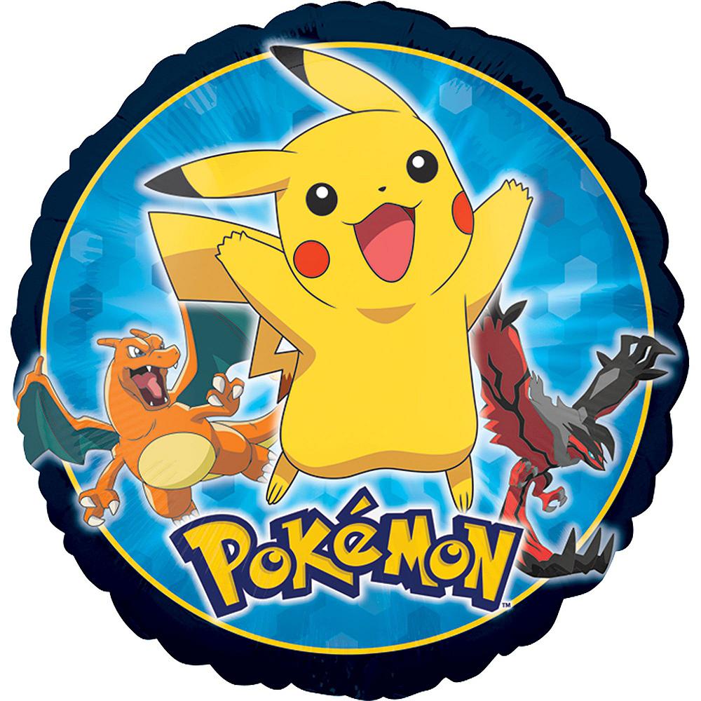 Pokemon 4th Birthday Balloon Bouquet 5pc Image #3