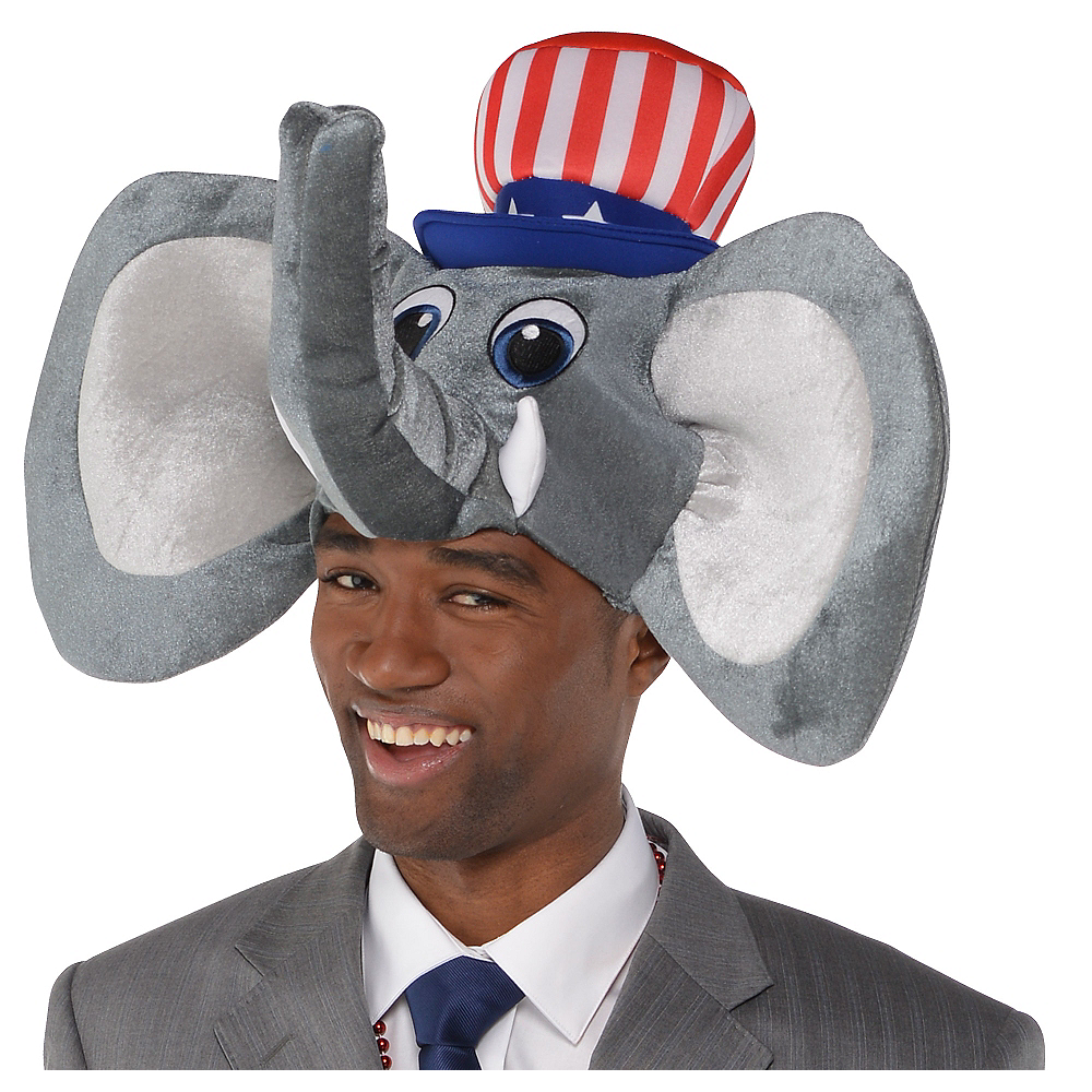 Nav Item for Republican Elephant Hat Image #1