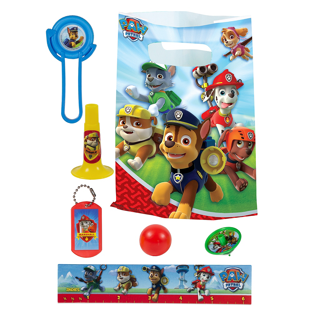 PAW Patrol Basic Favor Kit for 8 Guests Image #1
