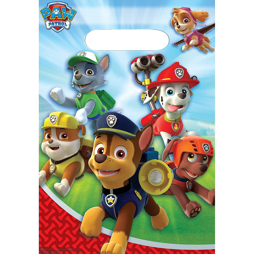 PAW Patrol Basic Favor Kit for 8 Guests Image #3