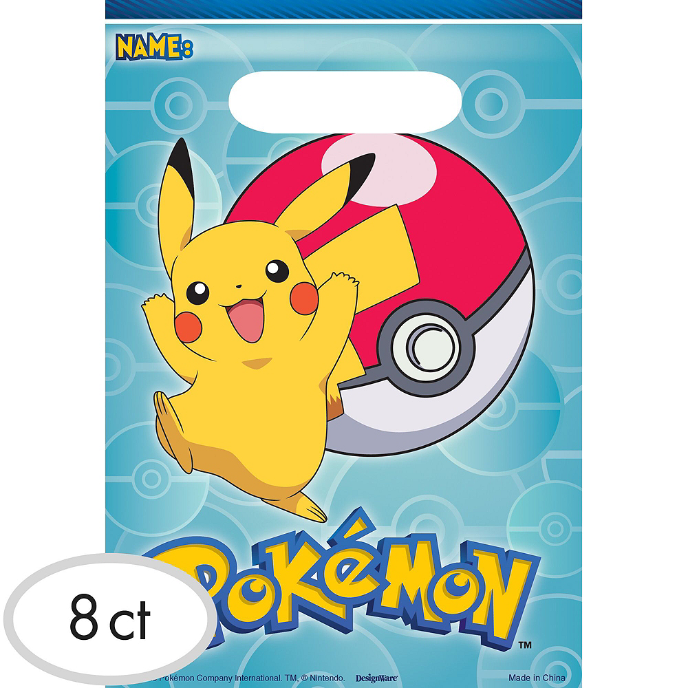 Pokemon Basic Favor Kit for 8 Guests Image #2