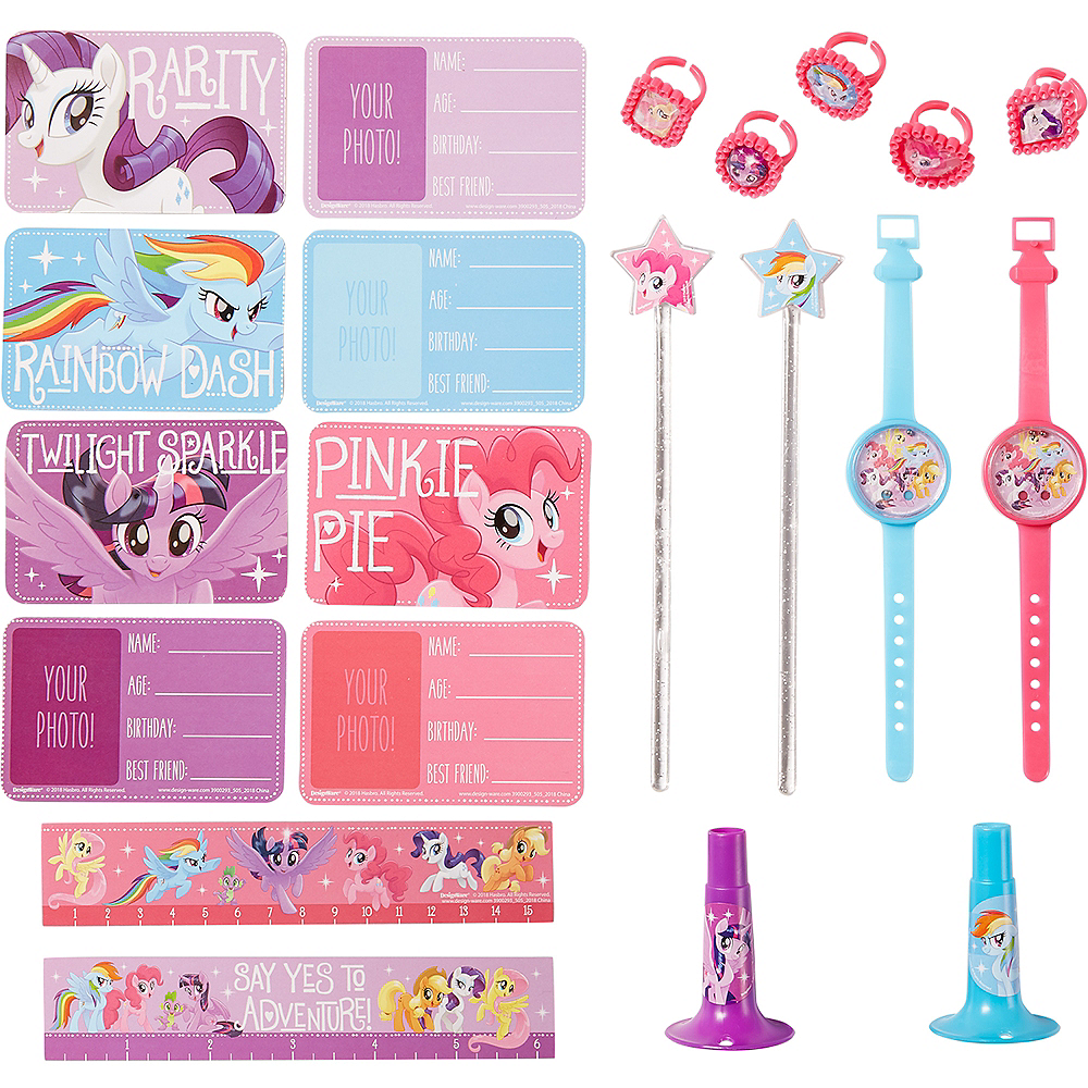 My Little Pony Basic Favor Kit for 8 Guests Image #1