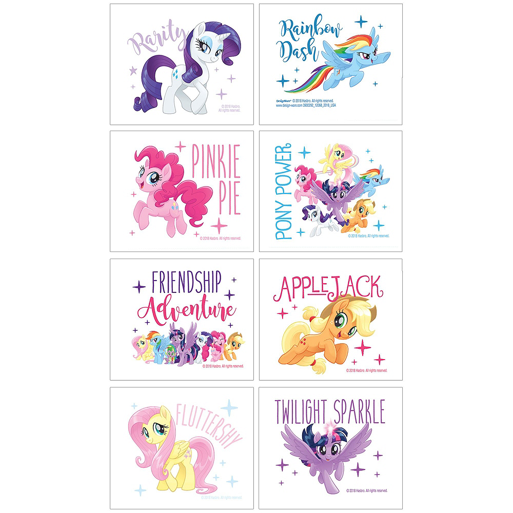 My Little Pony Basic Favor Kit for 8 Guests Image #2