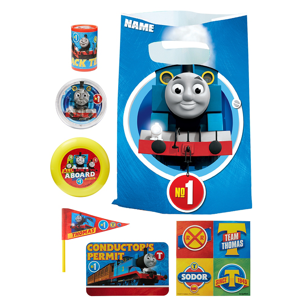 Thomas the Tank Engine Basic Favor Kit for 8 Guests Image #1