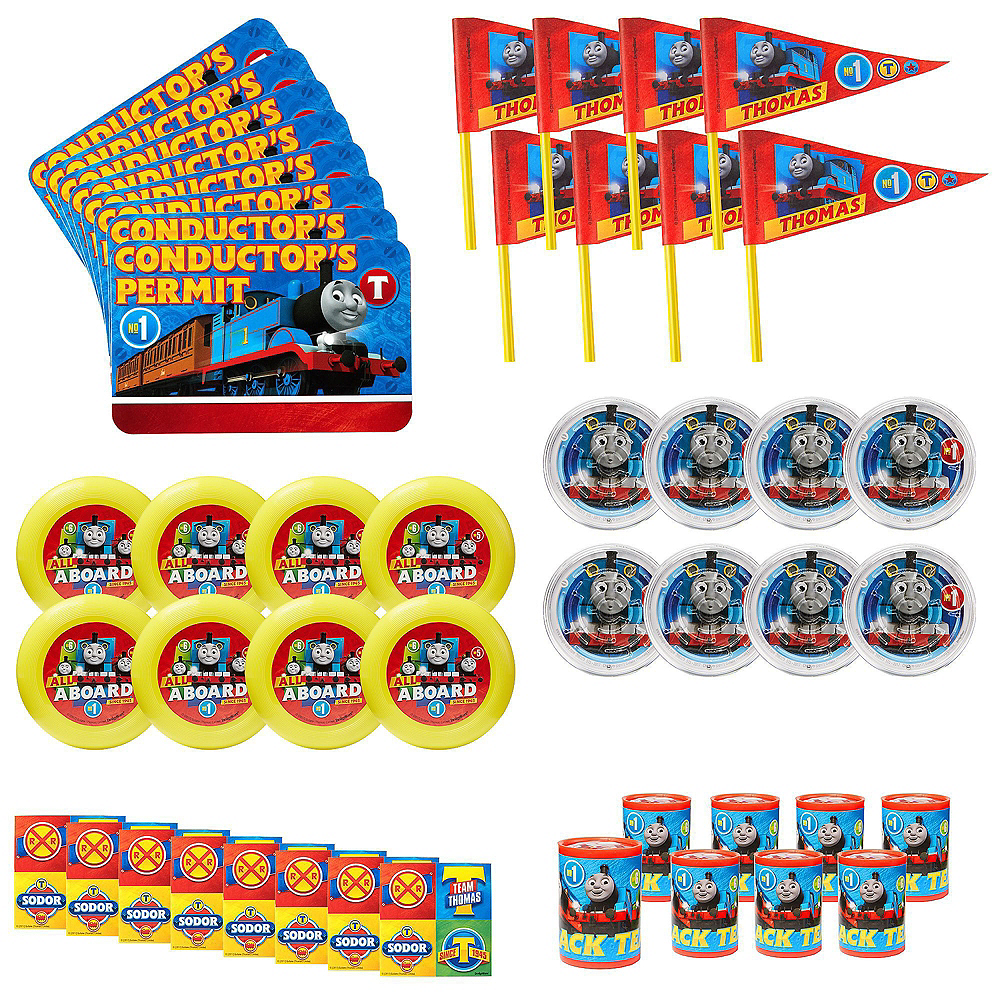 Thomas the Tank Engine Basic Favor Kit for 8 Guests Image #3