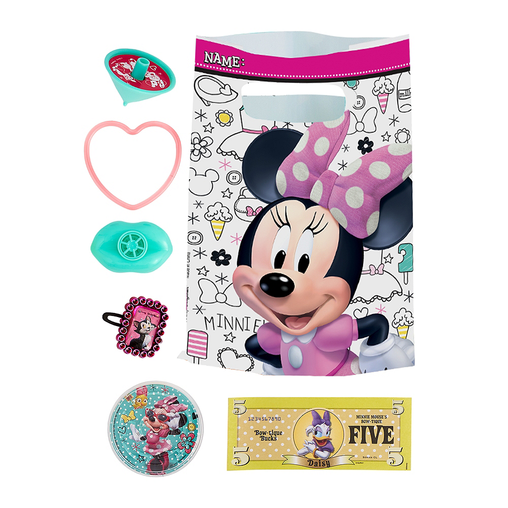 Minnie Mouse Basic Favor Kit for 8 Guests Image #1