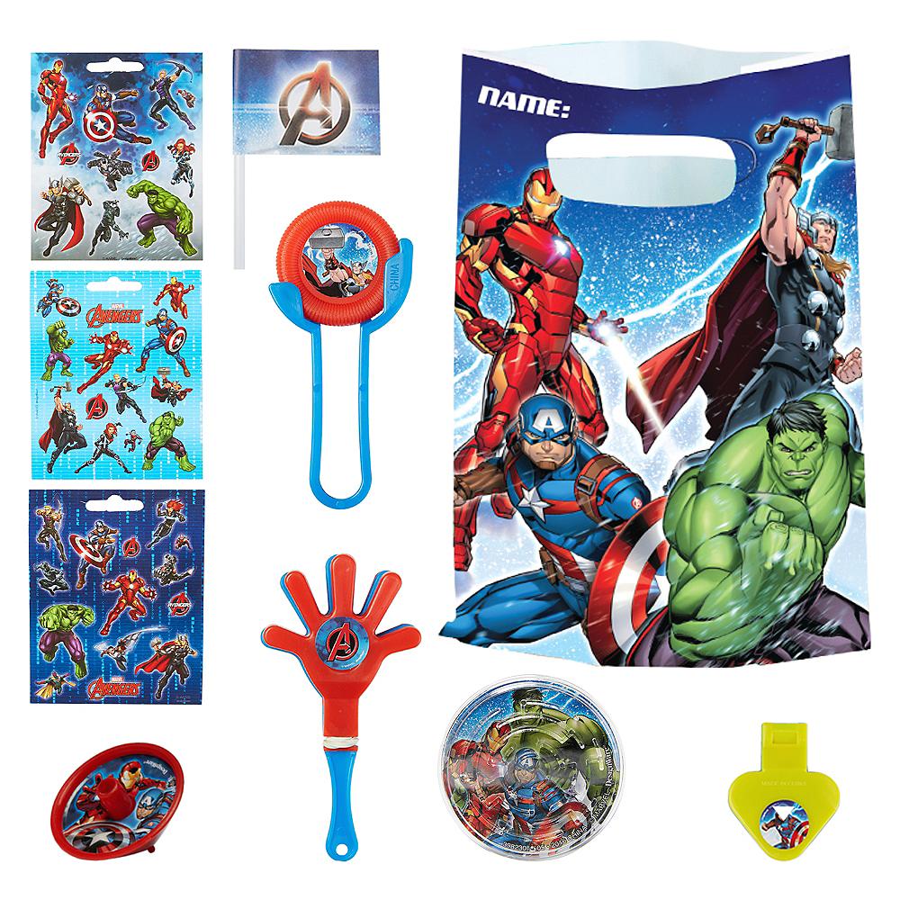Avengers Assemble Basic Favor Kit for 8 Guests Image #1