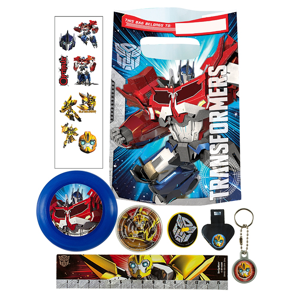 Transformers Basic Favor Kit for 8 Guests Image #1