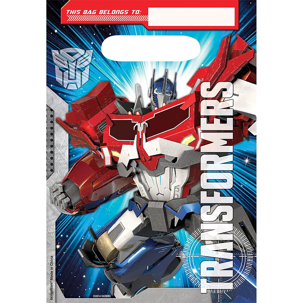 Transformers Basic Favor Kit for 8 Guests Image #3