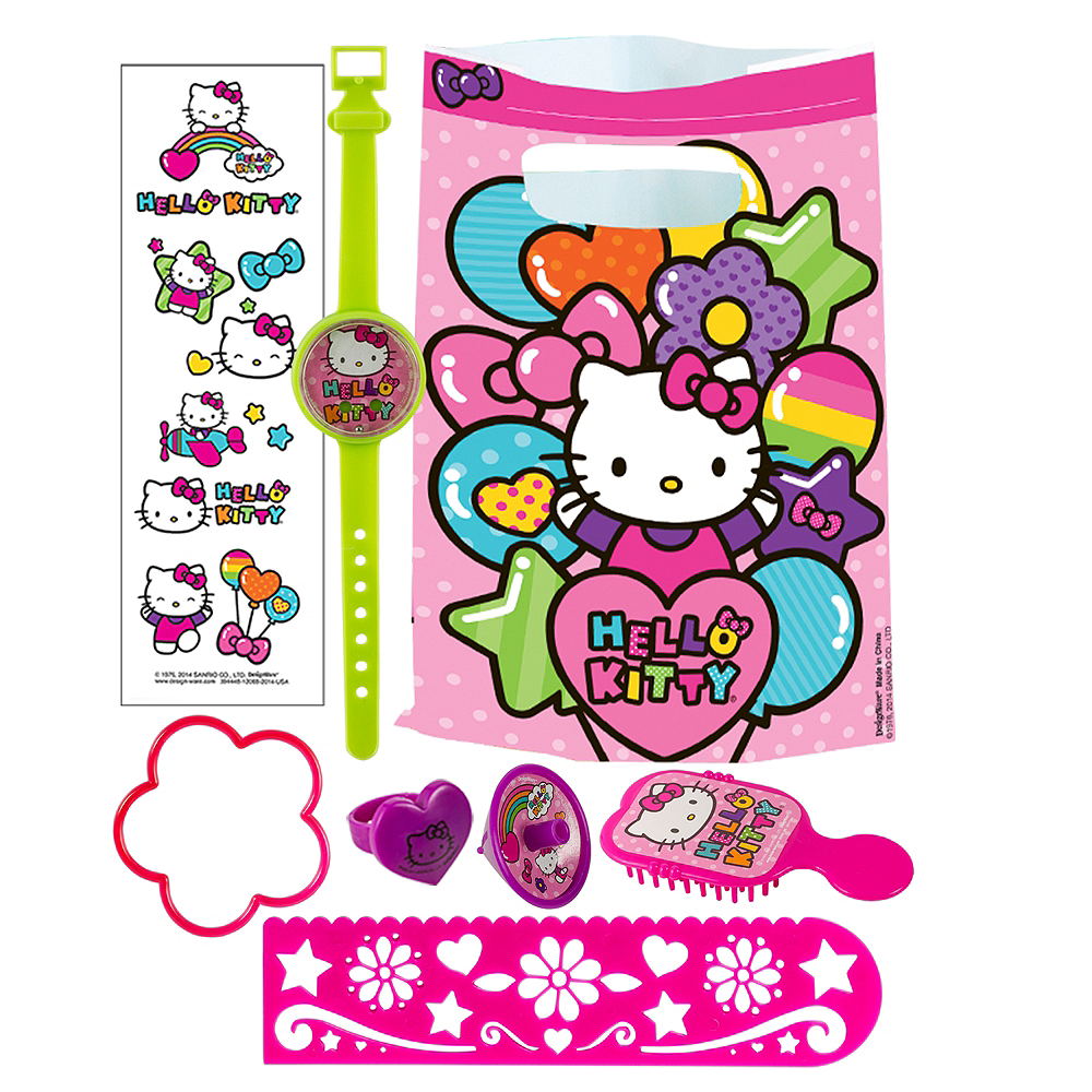Hello Kitty Basic Favor Kit for 8 Guests Image #1