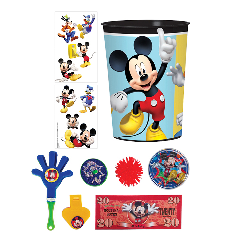 Mickey Mouse Super Favor Kit for 8 Guests Image #1