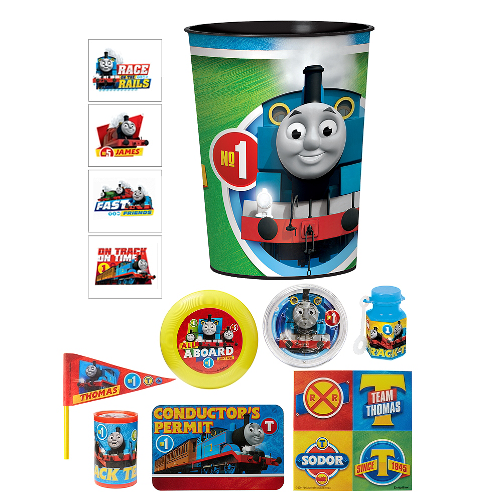 Thomas the Tank Engine Super Favor Kit for 8 Guests Image #1