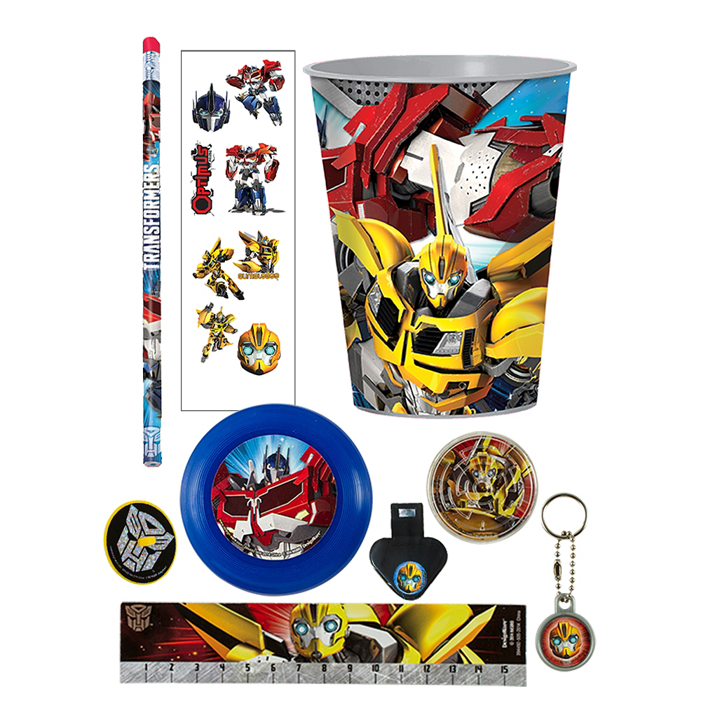 Transformers Super Favor Kit for 8 Guests Image #1