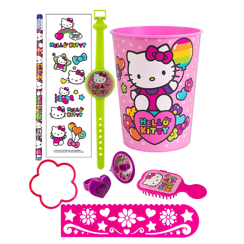 Hello Kitty Super Favor Kit for 8 Guests Image #1