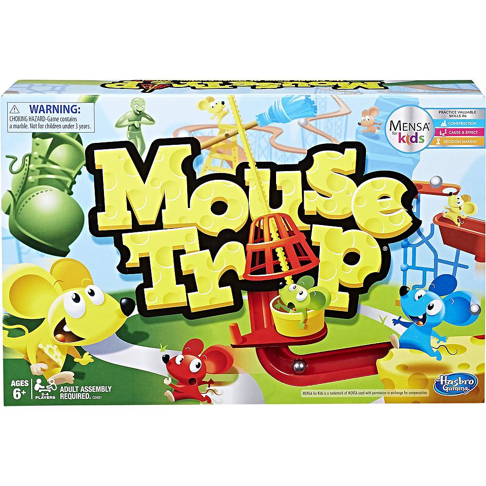 Nav Item for Elefun & Friends Mouse Trap Board Game Image #1