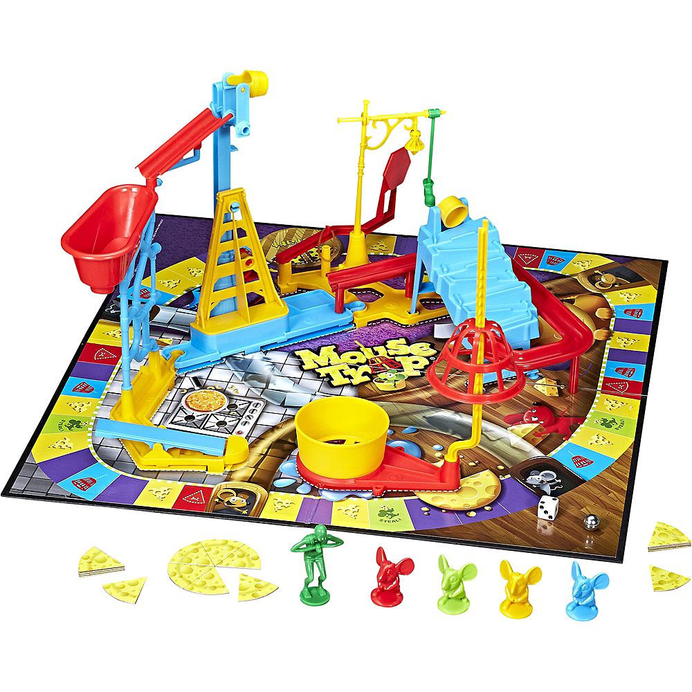 Nav Item for Elefun & Friends Mouse Trap Board Game Image #2