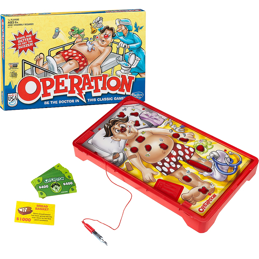 Operation Board Game Image #1