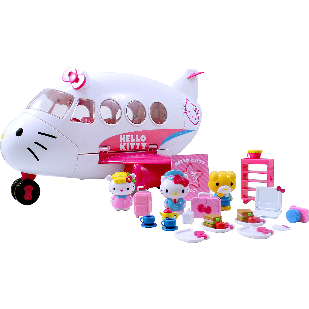 Hello Kitty Airline Playset 25pc Image #1