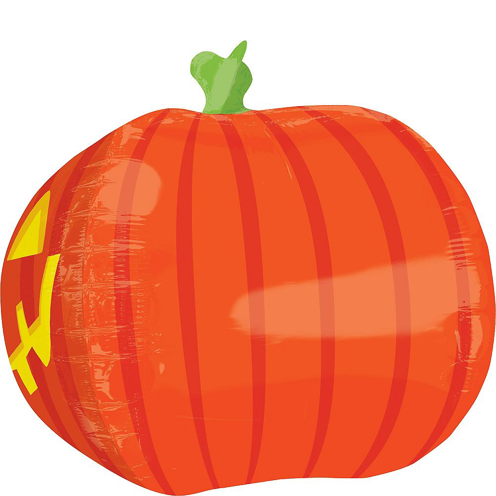 3D Jack-o'-Lantern Balloon, 18in Image #2