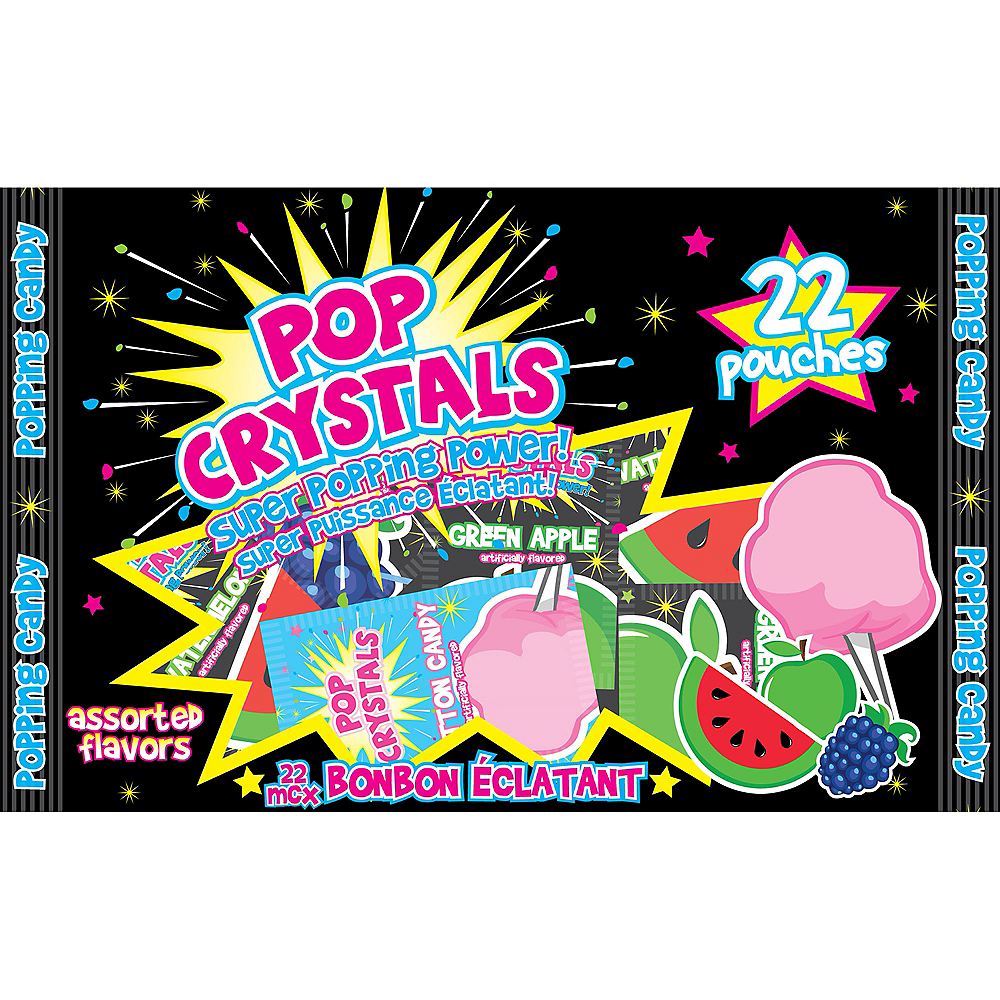 Pop Crystals Popping Candy Pouches 22ct Image #1