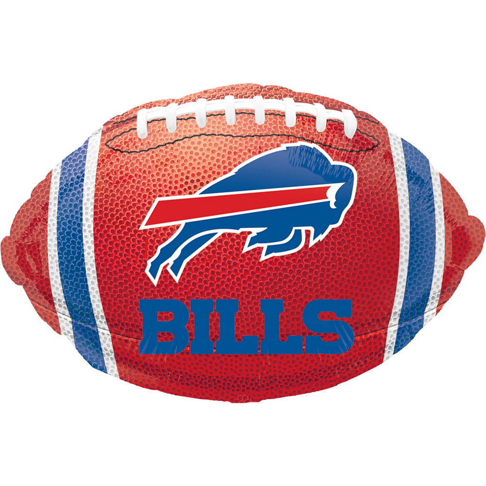 Buffalo Bills Jersey Balloon Bouquet 5pc Image #4