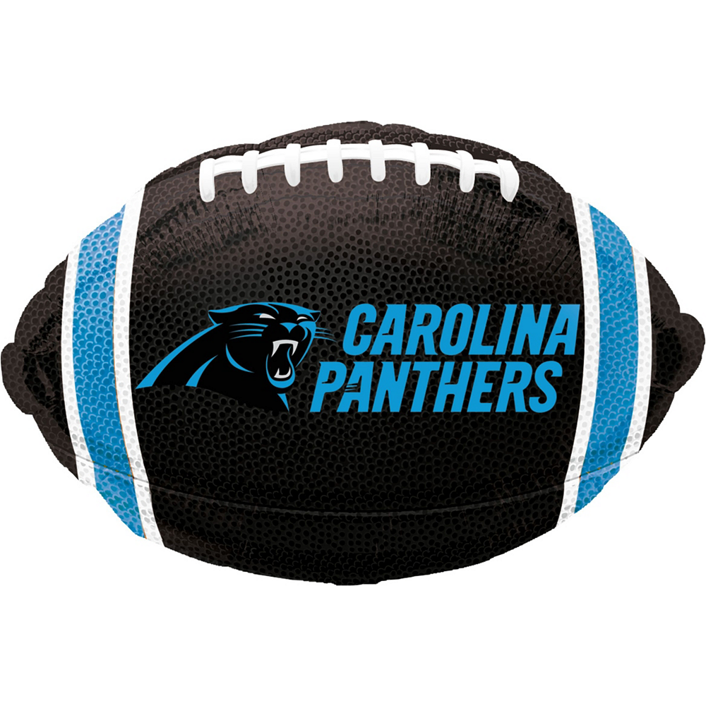 Carolina Panthers Jersey Balloon Bouquet 5pc Image #4