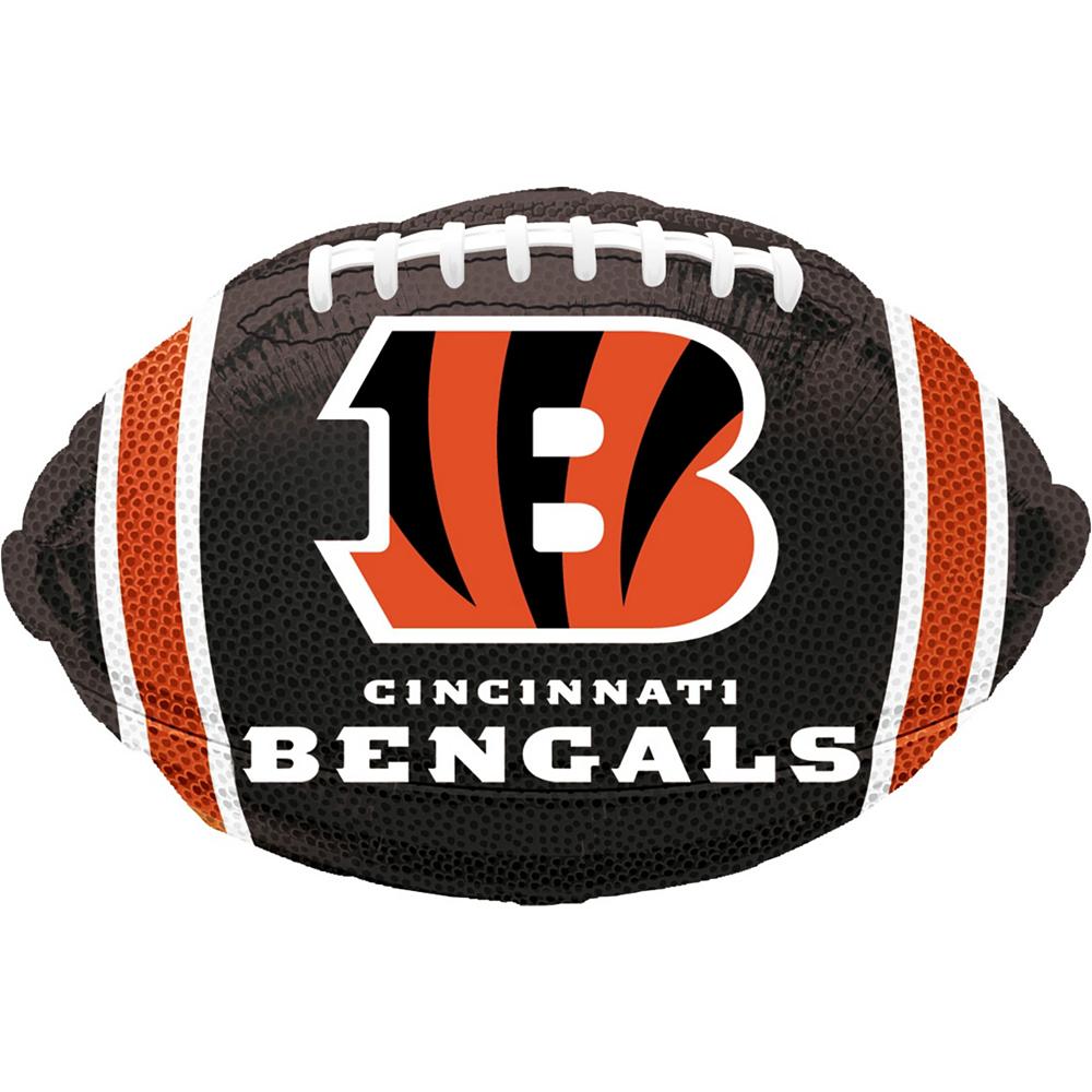 Cincinnati Bengals Jersey Balloon Bouquet 5pc Image #3