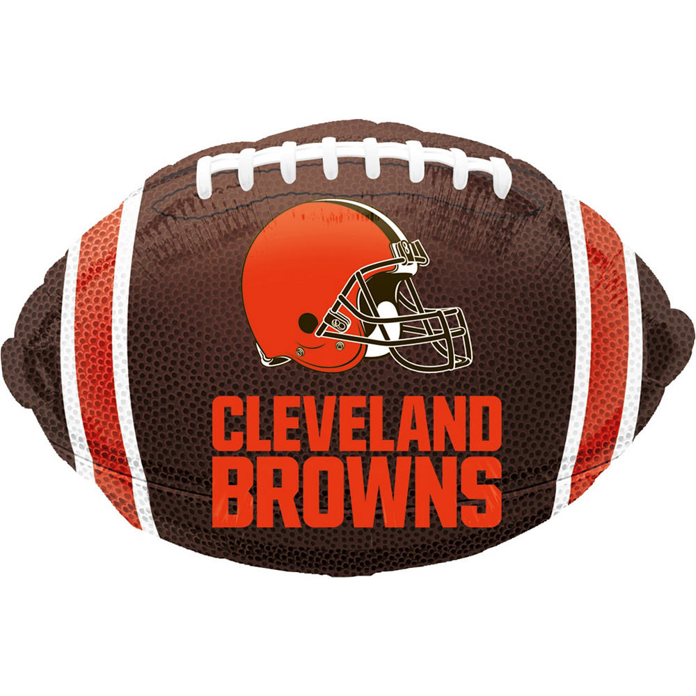 Cleveland Browns Jersey Balloon Bouquet 5pc Image #3