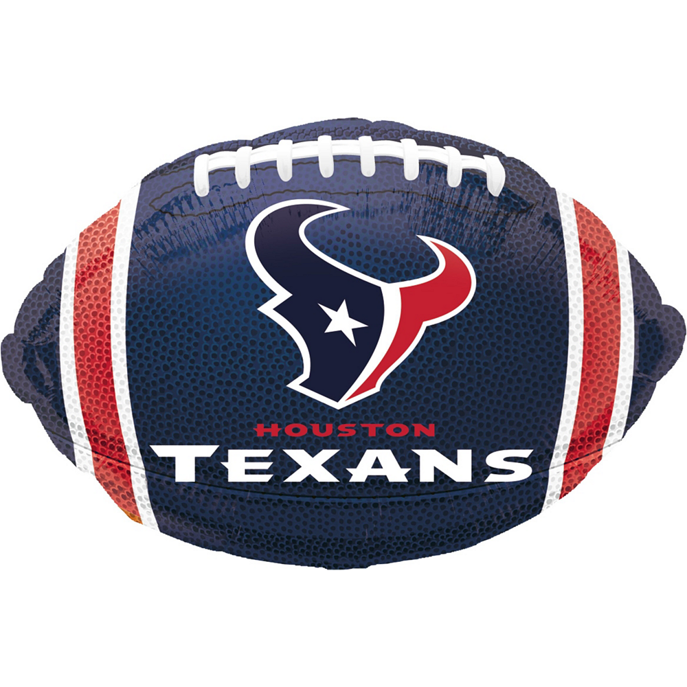 Nav Item for Houston Texans Jersey Balloon Bouquet 5pc Image #4