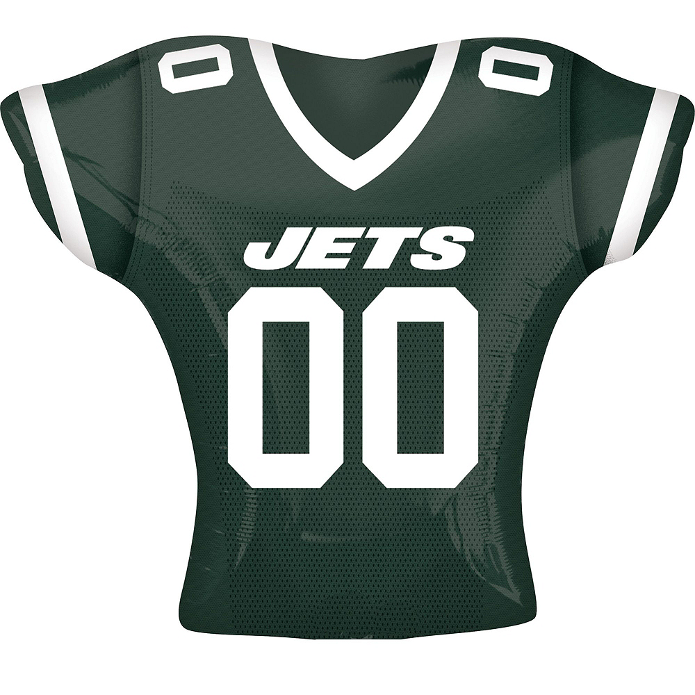 New York Jets Jersey Balloon Bouquet 5pc Image #2