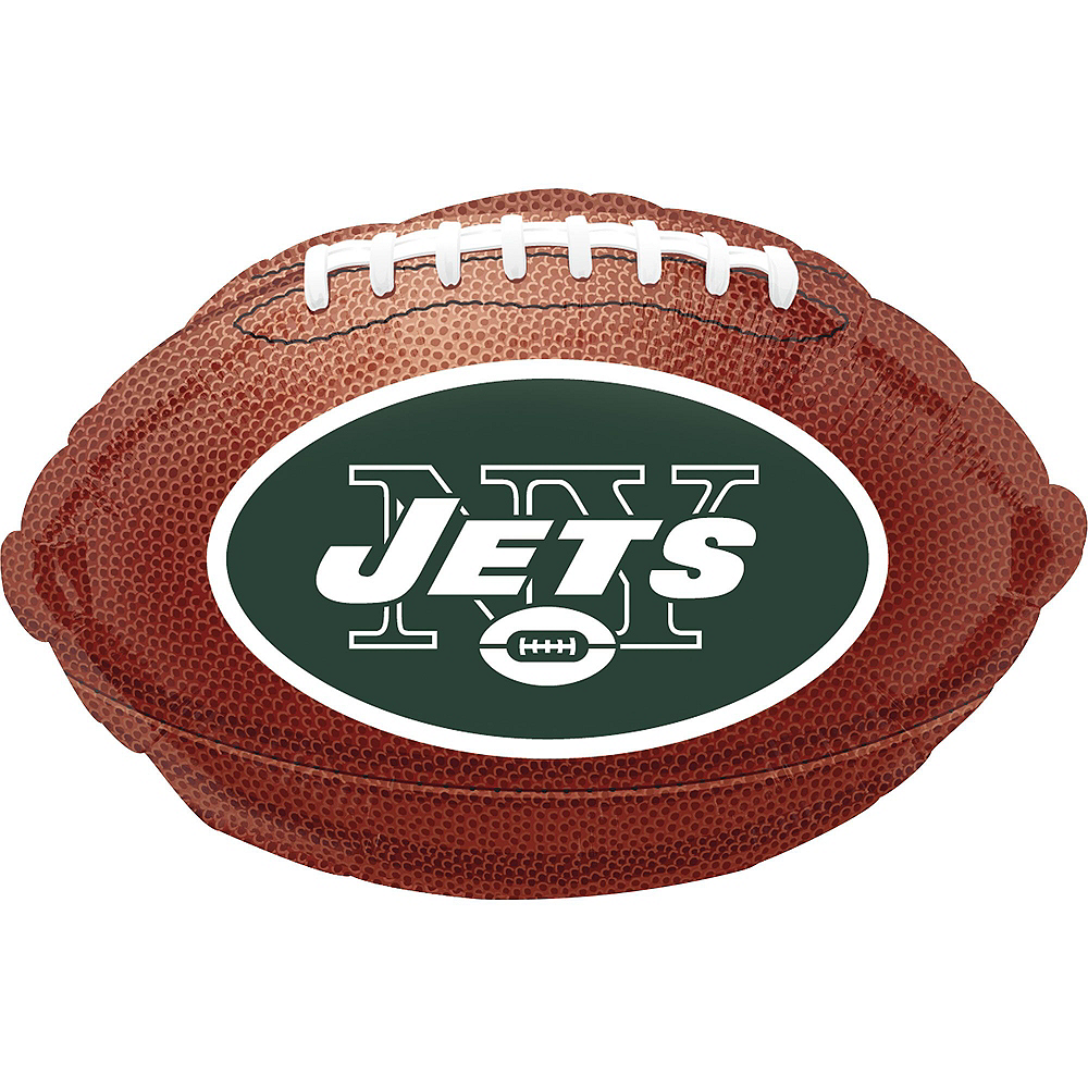 New York Jets Jersey Balloon Bouquet 5pc Image #4