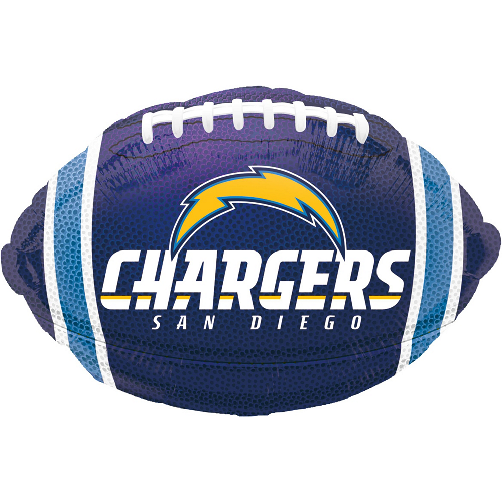 Los Angeles Chargers Jersey Balloon Bouquet 5pc Image #4