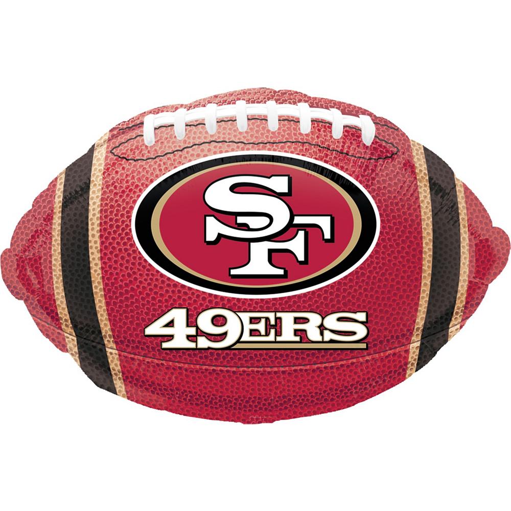 San Francisco 49ers Jersey Balloon Bouquet 5pc Image #4