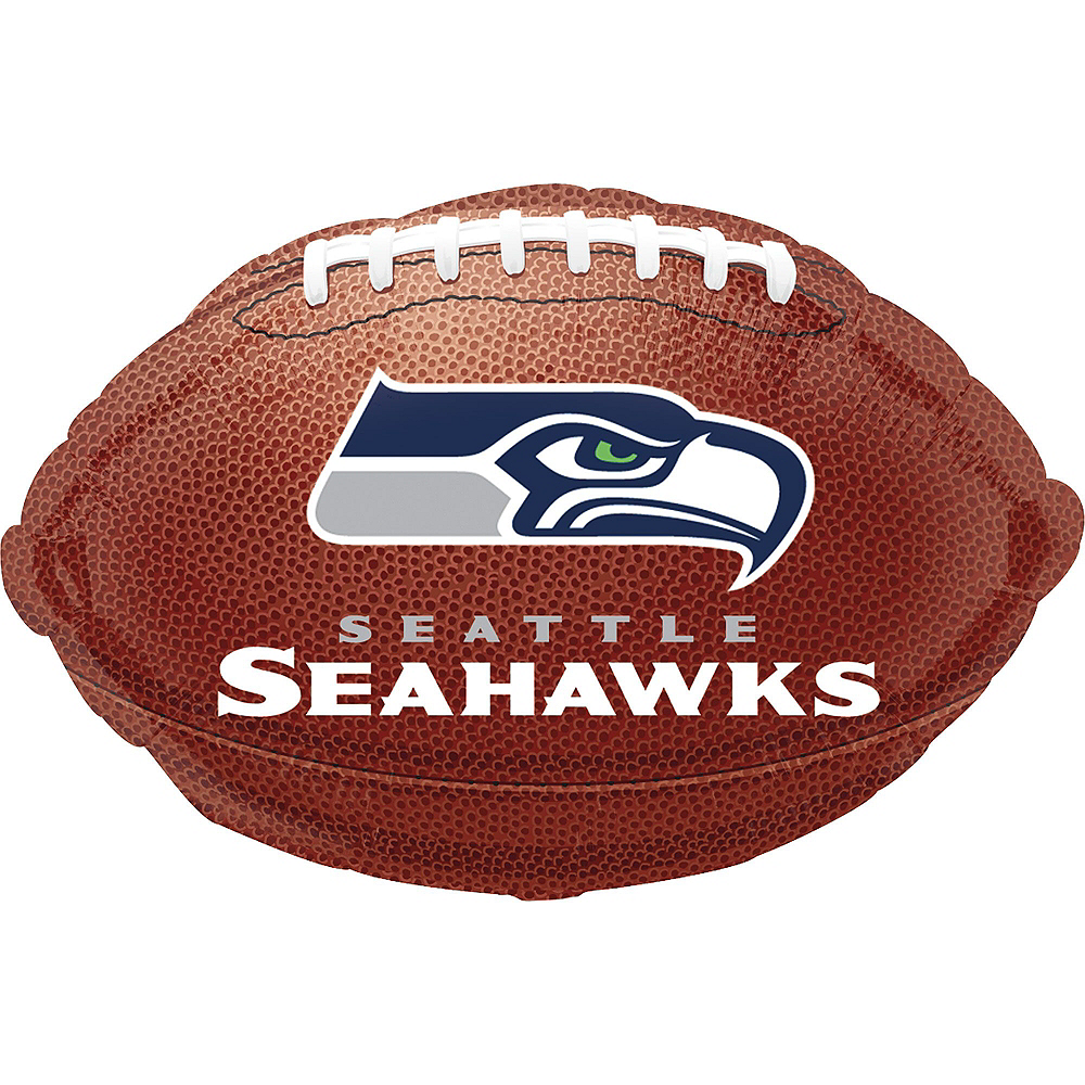 Nav Item for Seattle Seahawks Jersey Balloon Bouquet 5pc Image #2