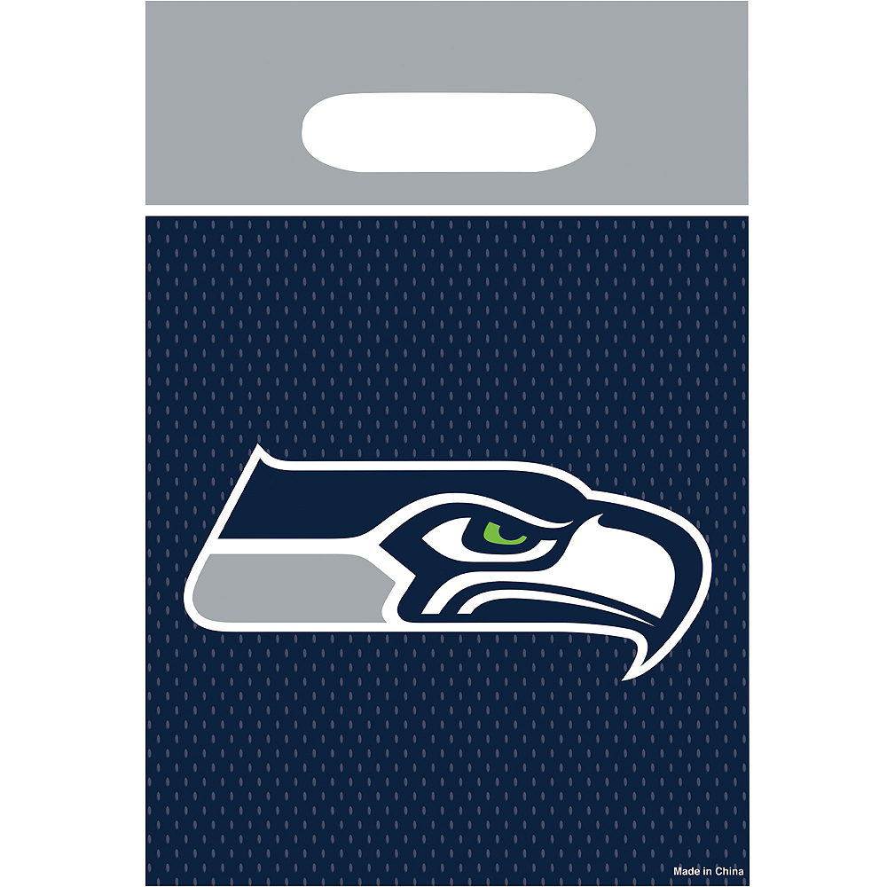 121a0defb72ff Seattle Seahawks Favor Bags 8ct | Party City