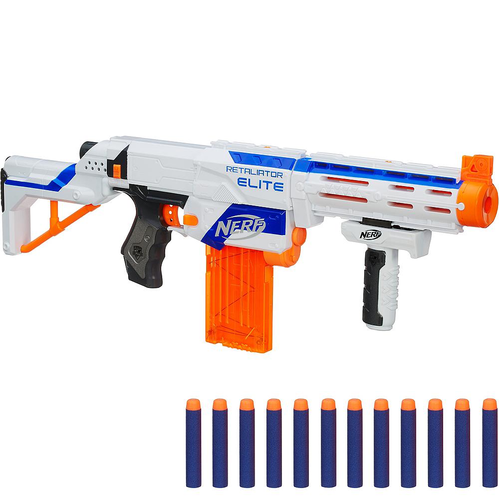 elite retaliator blaster nerf gun playset 16pc party city