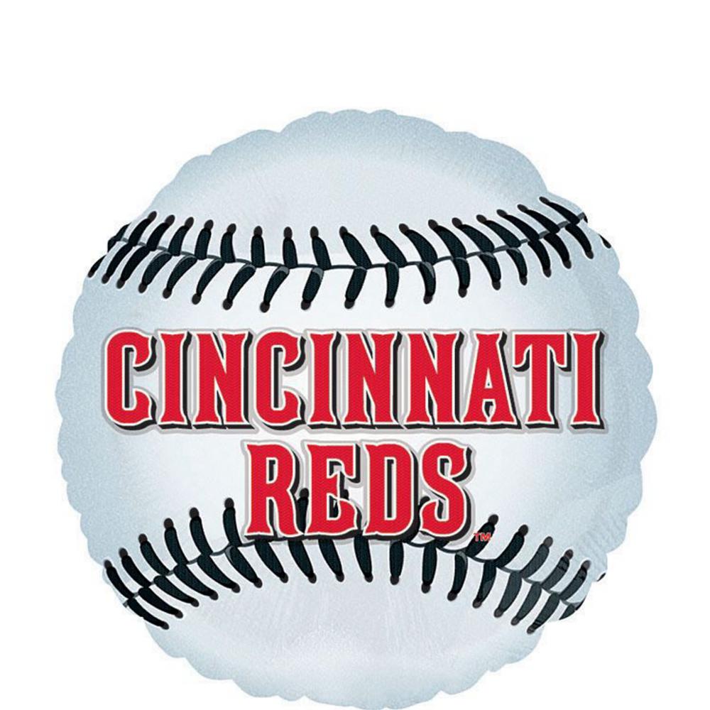 Cincinnati Reds Balloons 3ct - Baseball Image #2