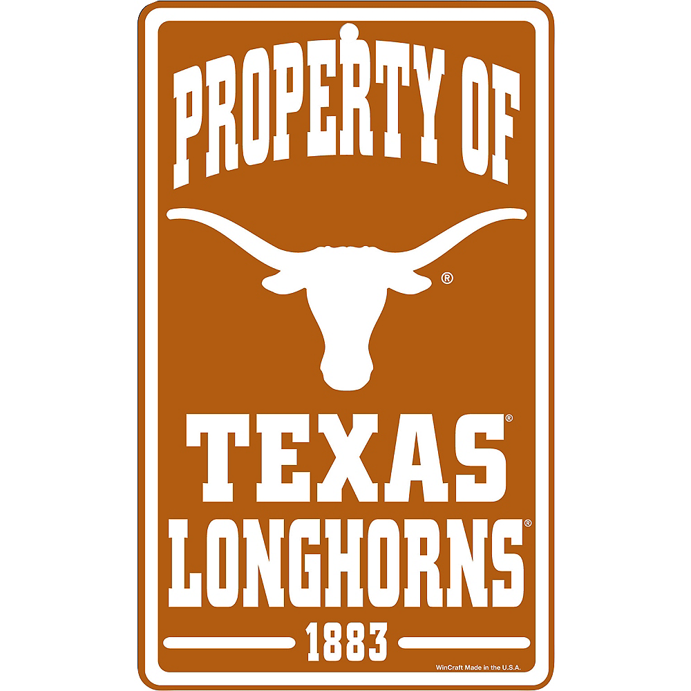 Property of Texas Longhorns Sign Image #1